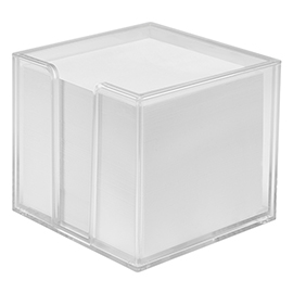 Notepad box, double-walled