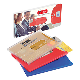 Credit card box, hard cover