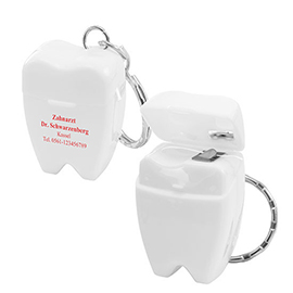 EXPRESS PRINT Dental-floss keychain